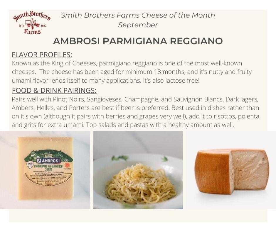 Ambrosi Parmigiano Reggiano Tasting Notes