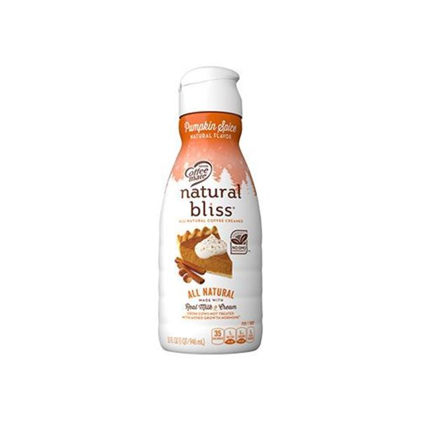 Natural Bliss Pumpkin Spice Coffee Creamer - 32 oz.