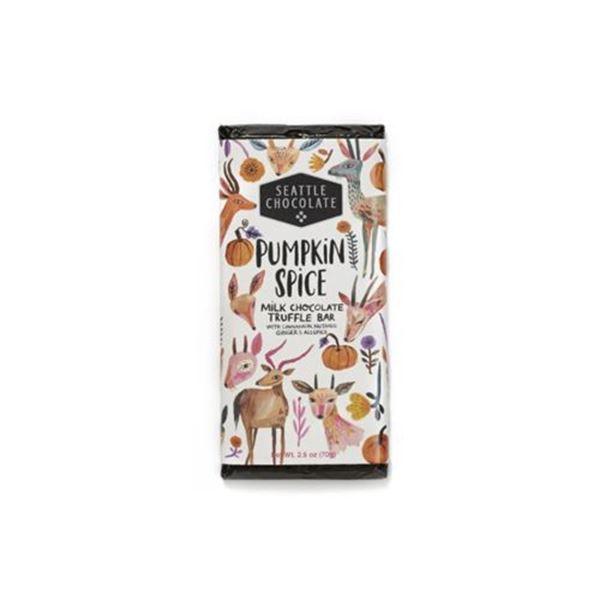 Seattle Chocolate Pumpkin Spice Truffle Bar – 2.5 oz.
