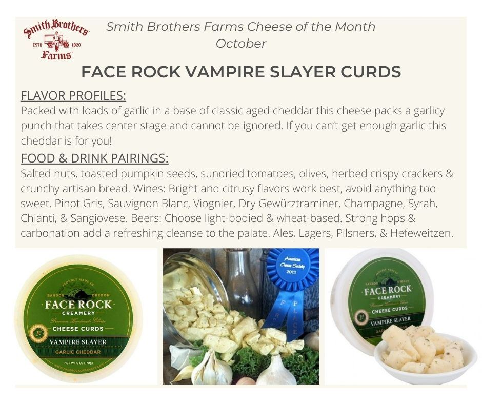 Face Rock Vampire Slayer Cheese Tasting Notes