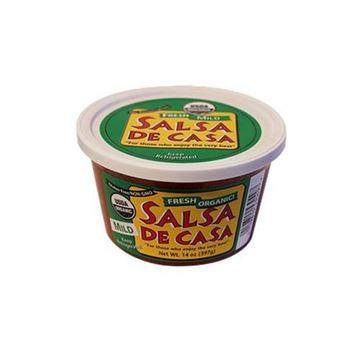 De Casa Organic Mild Red Salsa - 14 oz.