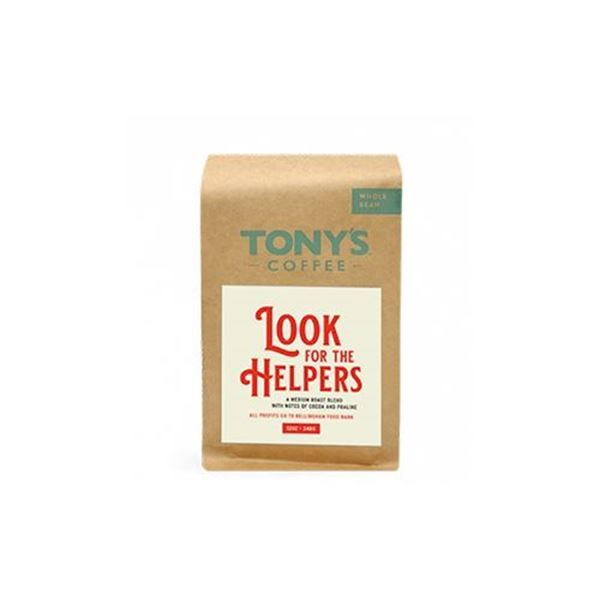 Tony's Look For the Helpers Whole Bean Coffee - 12 oz.