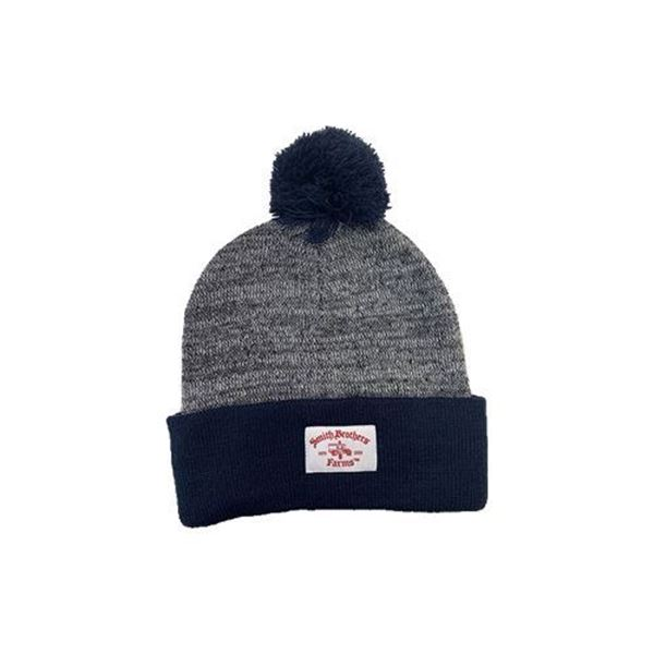 Smith Brothers Farms Pom Pom Beanie – One Size