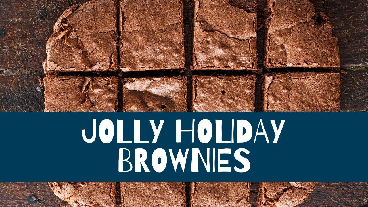 Jolly Holiday Brownies