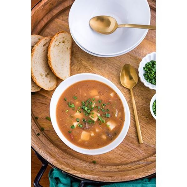 Heritage Specialty Foods Steakhouse Vegetable Beef Soup - 24 oz.