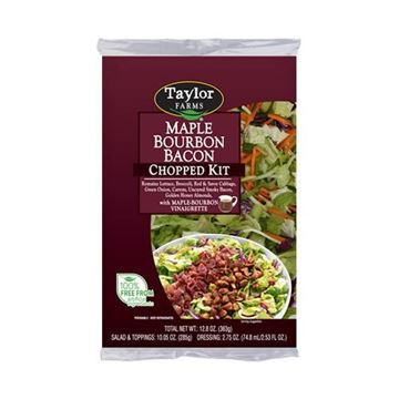 Taylor Farms Maple Bourbon Bacon Chopped Salad Kit - 12.8 oz.