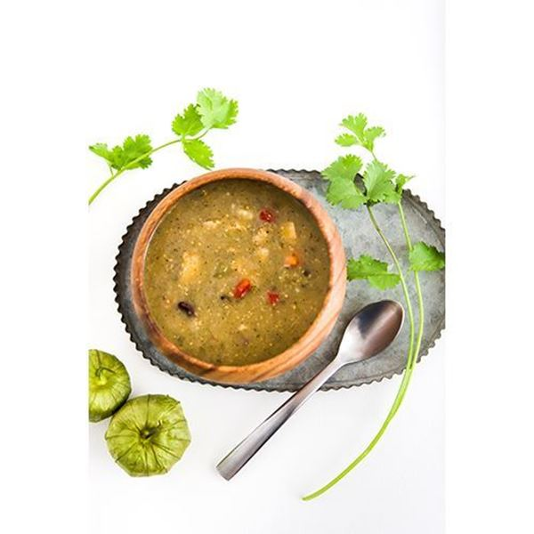 Heritage Specialty Foods Tomatillo Tortilla Soup with Chicken and Lime - 24 oz.