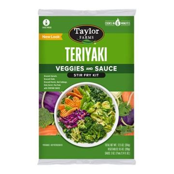 Taylor Farms Teriyaki Stir Fry Kit - 12.5oz