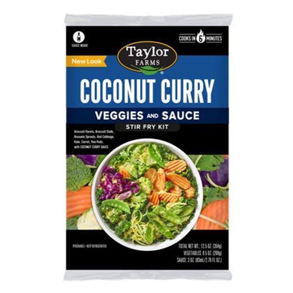 Taylor Farms Coconut Curry Stir Fry Kit - 12.5 oz.