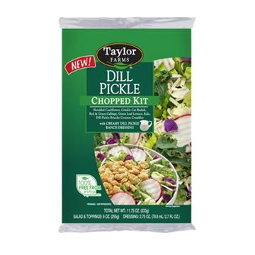 Taylor Farms Dill Pickle Chopped Salad Kit — 11.75oz