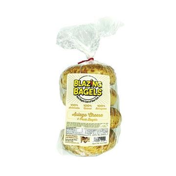Blazing Bagels Asiago Bagels - 4 pk.