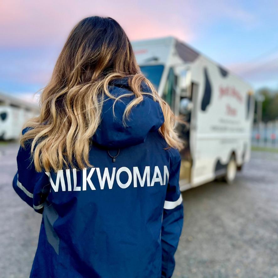 Smith Brothers Farms Milkwoman