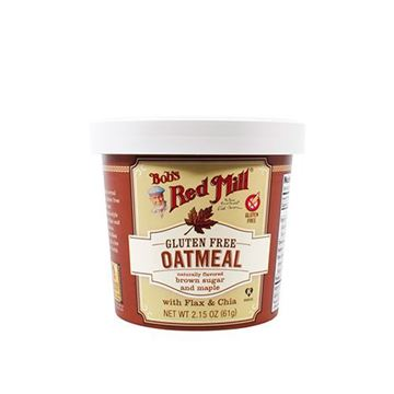 Bob's Red Mill Gluten Free Maple Brown Sugar Oatmeal Cup — 2.36oz
