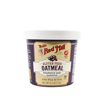 Bob's Red Mill Gluten Free Blueberry Hazelnut Oatmeal Cup — 2.36oz
