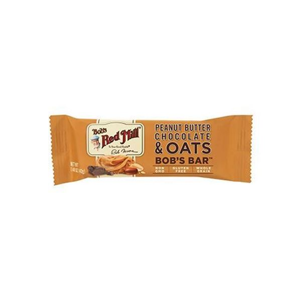 Bob's Red Mill Peanut Butter Chocolate and Oats Bars — 5 Pack