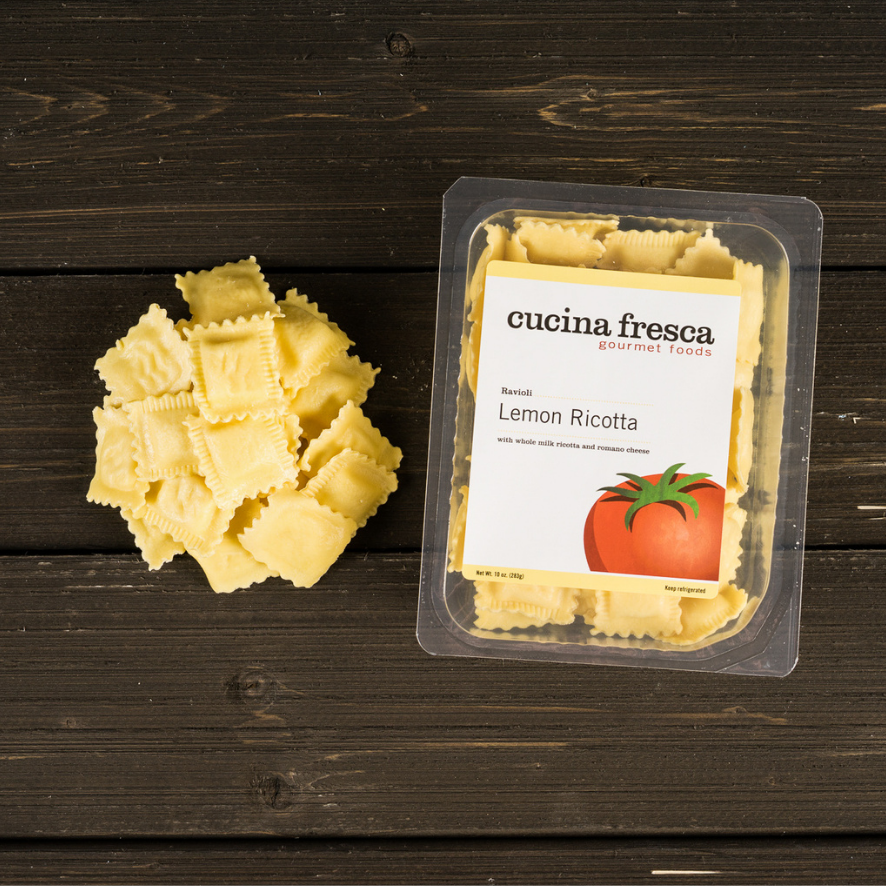 Cucina Fresca Lemon Ricotta Ravioli