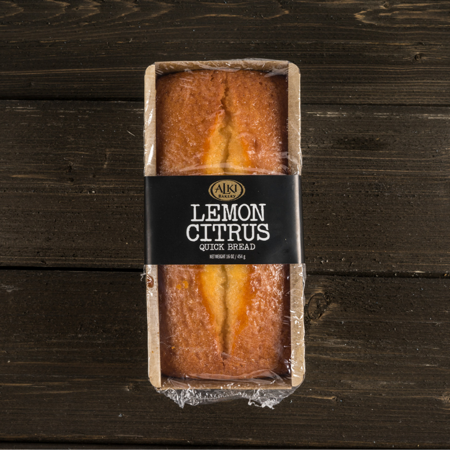 Alki Bakery Lemon Citrus Sweet Bread