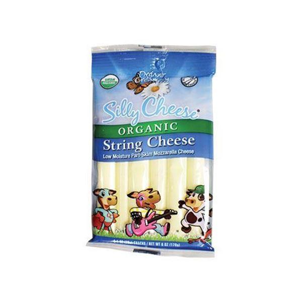 Organic Creamery String Cheese - 6 oz.