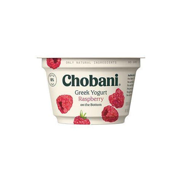 Chobani Raspberry Greek Yogurt - 5.3 oz.
