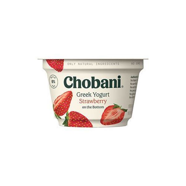 Chobani Strawberry Greek Yogurt - 5.3 oz.