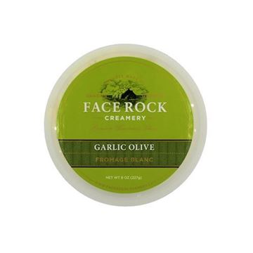 Face Rock Creamery Garlic Olive Fromage Blanc - 8oz