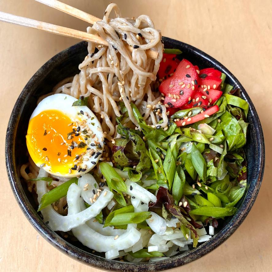 Umi Organic Cold Noodle Salads Hiyashi Chuka