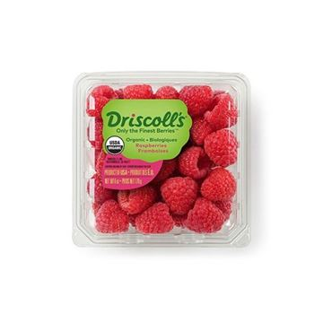 Organic Raspberries - 6 oz.