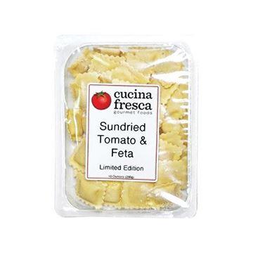 Cucina Fresca Sun-Dried Tomato & Feta Ravioli - 10 oz.