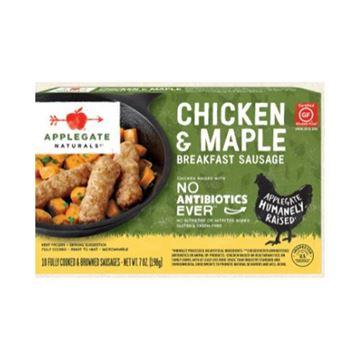 Applegate Naturals Chicken & Maple Breakfast Sausage - 7 Oz.