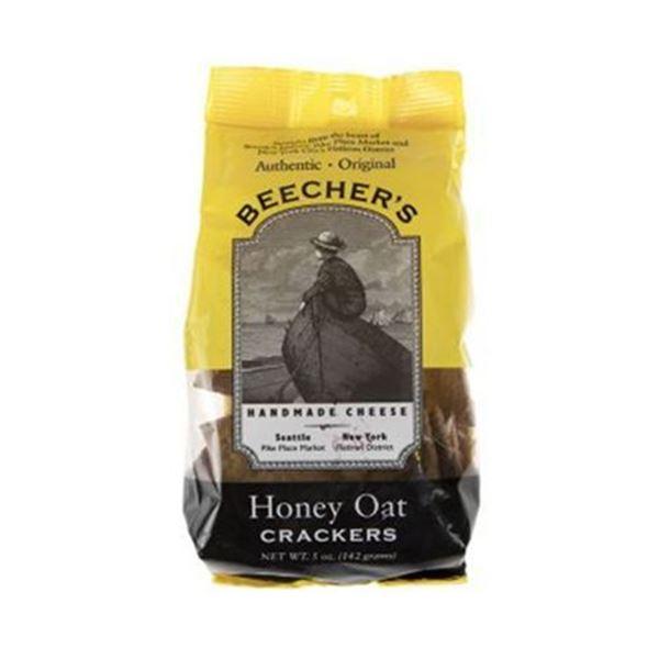 Beechers Honey Oat Crackers - 5 Oz.