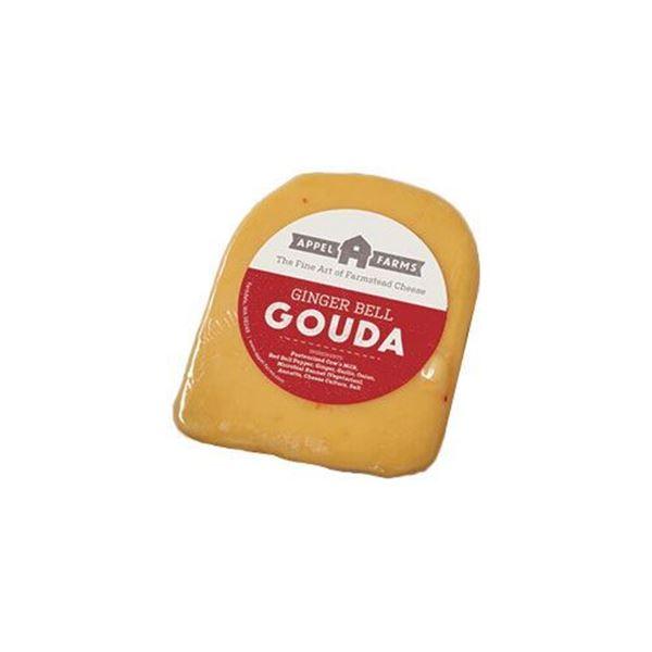 Appel Farms Ginger Bell Gouda – 7 oz.