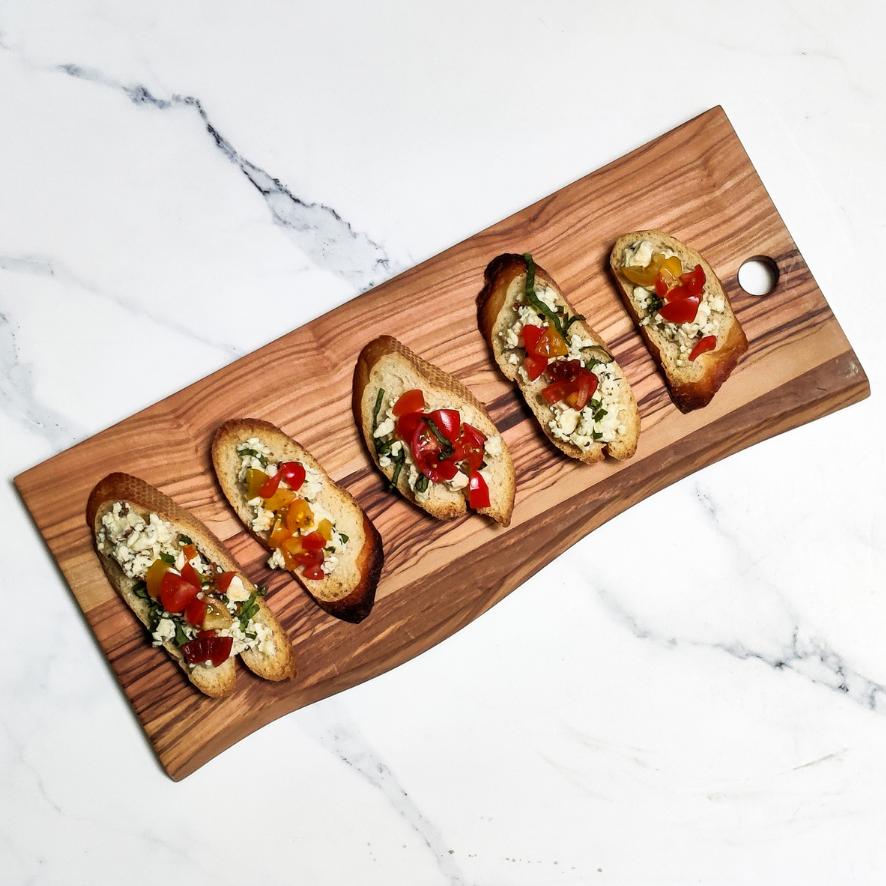 Smith Brothers Bruschetta and Goat Cheese