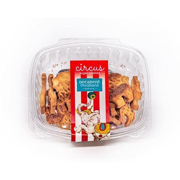 Decadent Creations Cinnamon Circus Animal Cookies - 5 Oz.