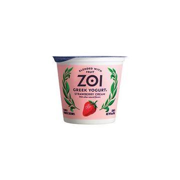 Zoi Strawberry Cream Greek Yogurt - 6 oz