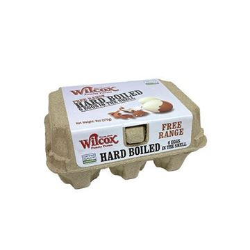 Wilcox Free Range Hard-Boiled Eggs in the Shell - 6 ct.