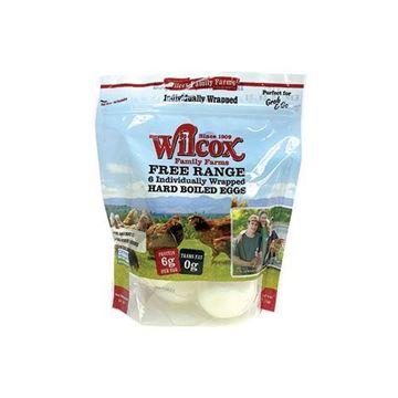 Wilcox Free Range Hard-Boiled Eggs - 6 ct.