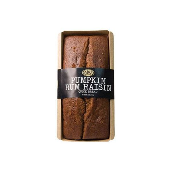 Alki Bakery Pumpkin Rum Raisin Sweet Bread - 16 oz.