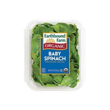Earthbound Farm Organic Baby Spinach - 5 oz.