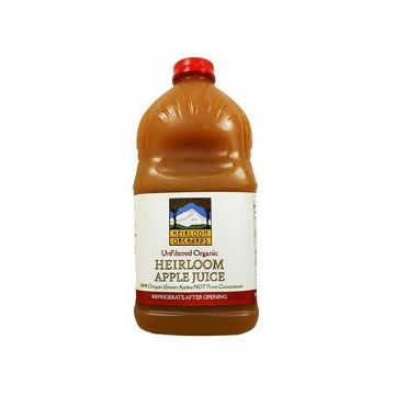 Organic Heirloom Orchards Apple Juice - Half Gallon