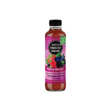 Seattle Kombucha Company Very Berry – 12 oz.